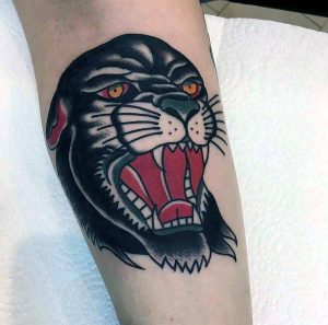 Hilde Neunteufel Tattoo Tiger