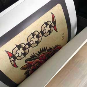 Tattoo Studio Printmotive Shop