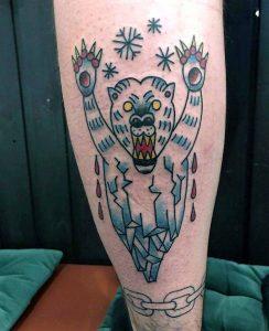 Stefan Skipbrudden Tattoo Bär