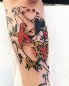 Hilde Neunteufel Tattoo