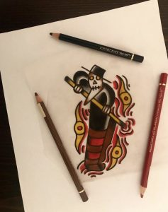 Skipbrudden Tattoo